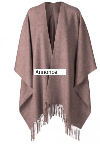 Poncho tilbud – find pels ponchoer og strik ponchoer til skarpe priser!