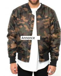 Army jakker er sæsonens trend –  køb militær jakker online