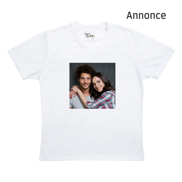 Personliggør gaven med en T-shirt med eget foto
