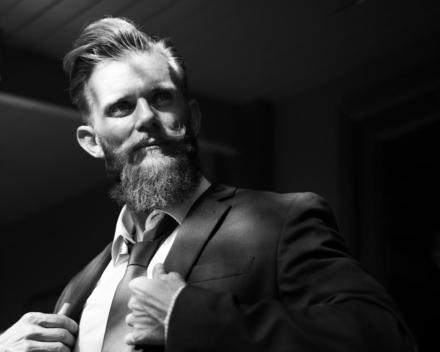 Er skæg stadig moderne?